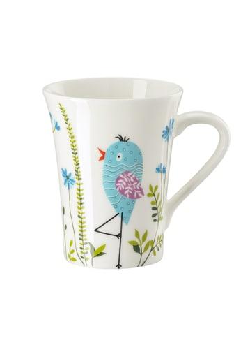 HR_My_Mug_Collection_Birdies_Blue_Becher_mit_Henkel