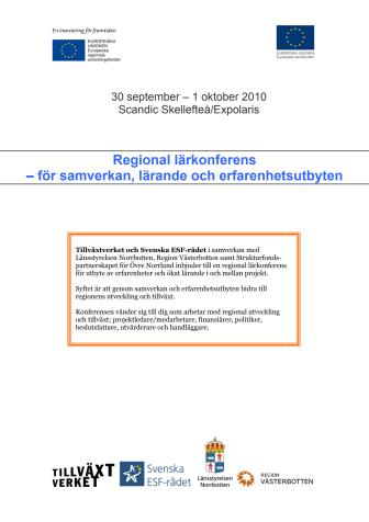 Fyra miljarder utvecklar Övre Norrland – vad görs och hur blir det efter 2013?