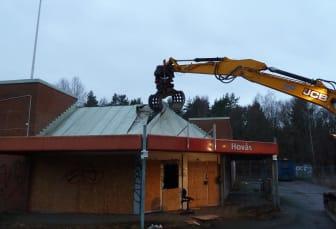 Gamla Hovåsboden rivs och ger plats till nya bostäder