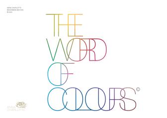 Frisk av färg! - Nu släpps boken The Word of Colours