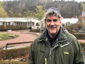 Peter Svenson, trädgårdsmästare på Jonsereds trädgårdar