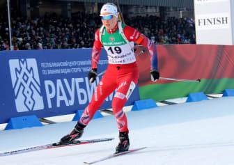 Kristin Sandeggen, jaktstart JR-VM Minsk.