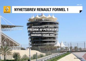 F1 Nyheter från Renault