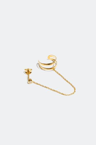 Stud & earcuff earring - 249 kr
