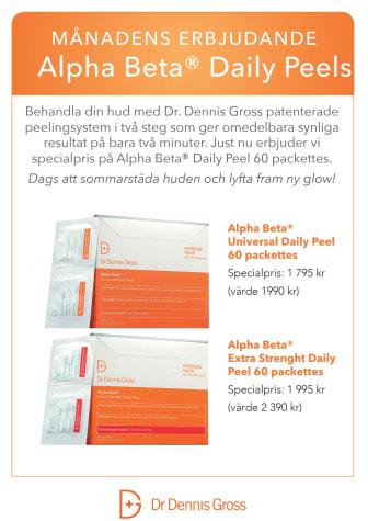 Dr Dennis Gross A4 Alpha Beta Peels 60 pack