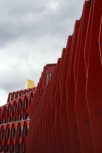 Kunskapshuset, fasad