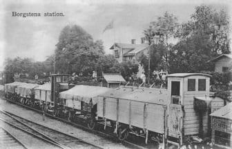 Borås-Herrljunga järnväg 150 år