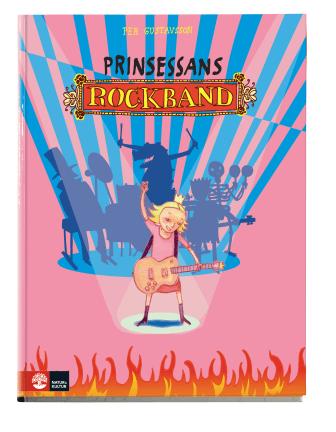 LitteraLund: bokomslag Prinsessans rockband av Per Gustvsson