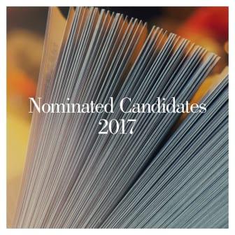 Nominated Candidates 2017