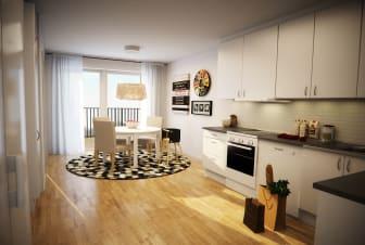 Nya bostadsrätter (lägenheter) på Kortedala Torg