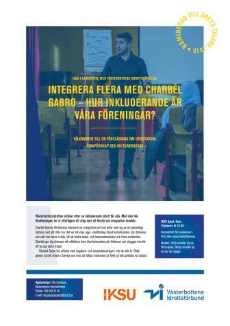 Charbél Gabro talar på IKSU
