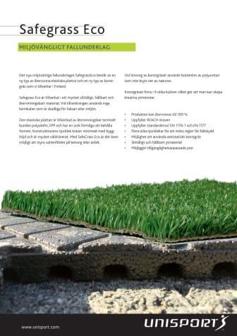 Produktblad - Safegrass Eco