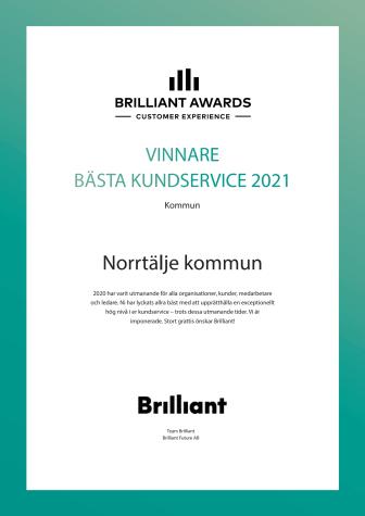 Diplom Bästa kundservice Norrtälje kommun 2021.pdf