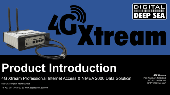 4G Xtream from Digital Yacht Europe gets you connected afloat.