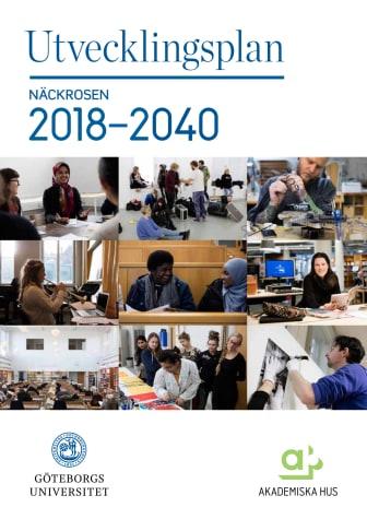 Utvecklingsplan Näckrosen 2018-2040, Göteborgs universitet