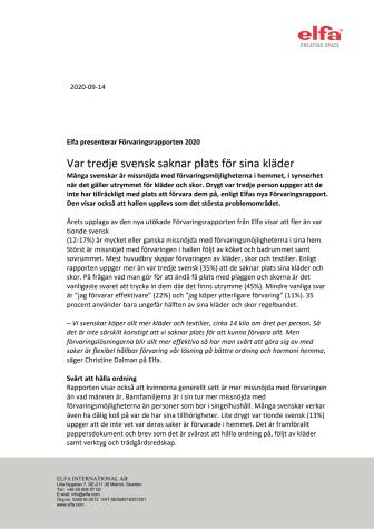 200914_Elfa presenterar Förvaringsrapporten 2020_Var tredje svensk saknar plats för sina kläder.pdf