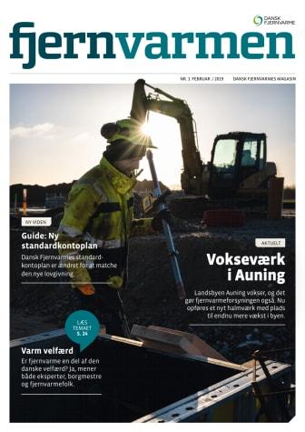 Årets første udgave af magasinet Fjernvarmen på gaden