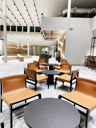 Quality Hotel Arlanda XPO vy över receptionen