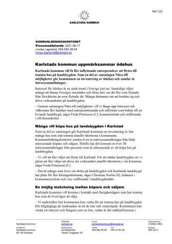 Pressmeddelande Nära till möjligheter.pdf