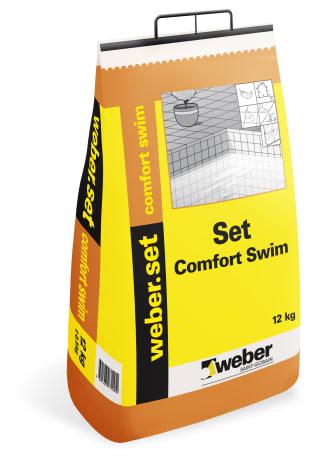 Set Comfort Swim -  fästmassa för simbassänger från Weber