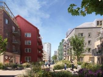 Arkitema Södra Häggviks gårdar