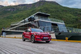 Mustang Mach-E 2020 Norge Oslo Bergen Aurland Flåm