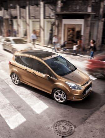 Nya Ford B-MAX har klassens bästa bränsleekonomi och lägsta koldioxidutsläpp – både med diesel och bensin