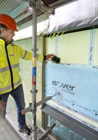 Weber P-märkta fasader - kontrollbesiktning