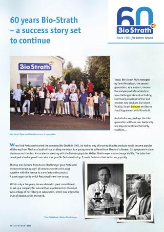 Bio-Strath 60 år
