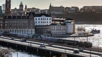 Loktåg Stockholm C