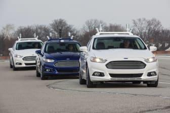 Ford storsatsar på utveckling av helt förarlösa bilar