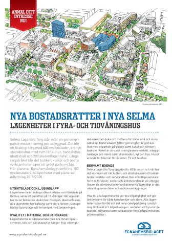 3 oktober Familjedag på Selma Lagerlöfs Torg