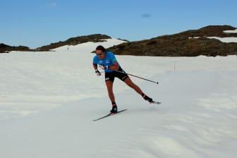 Emil Hegle Svendsen på Sognefjellet