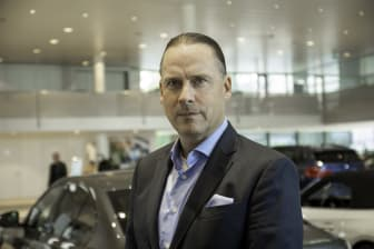 Marcus Larsson, CEO Hedin Automotive