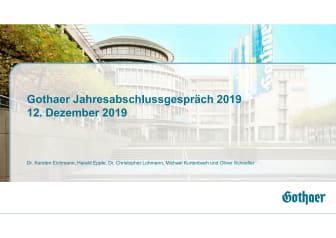 Präsentation Jahresabschlussgespräch am 12.12.2019