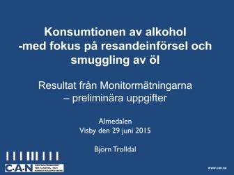 CANs presentation Almedalen 2015