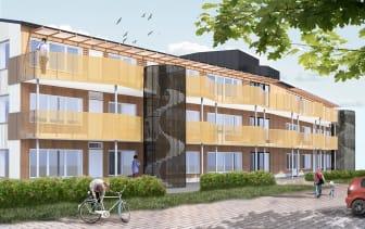 Kviberg - bostadsrätter på Regementsgatan