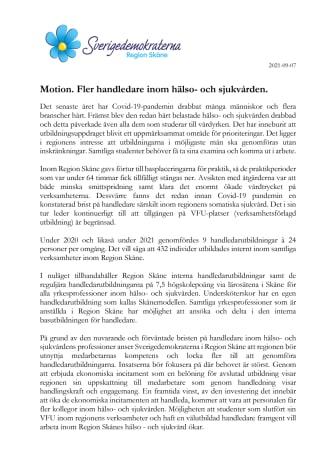 Motion. Fler handledare inom hälso-och sjukvården..pdf