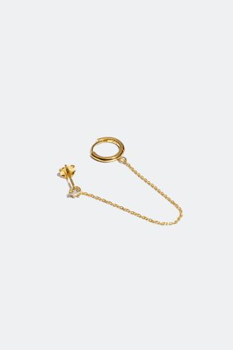 Stud & creol earring - 199 kr