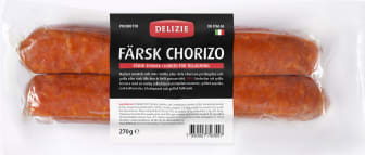 Färsk chorizo, Delizie