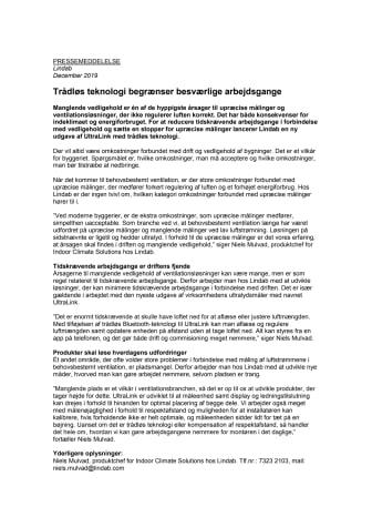 Trådløs teknologi begrænser besværlige arbejdsgange