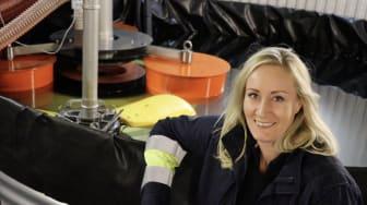 Christina Lundbäck testar SurfCleaner