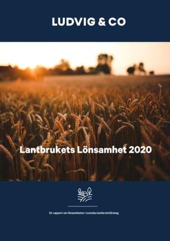 Lantbrukets Lönsamhet november 2020
