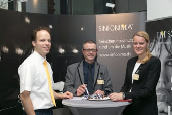 Klaus Giebels, Harald Fröhlich, Susanne Leuthner (SINFONIMA)