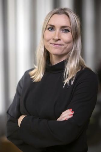 Jenny Elveljung, sälj- och marknadsansvarig på AO Bostad Norr