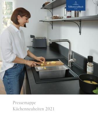 Pressemappe Neuheiten Keramikspülen & Küchenarmaturen 2021/2022