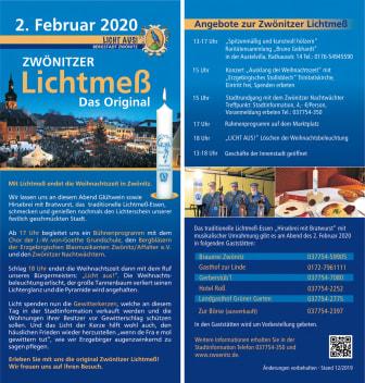 Zwönitzer Lichtmess 2020
