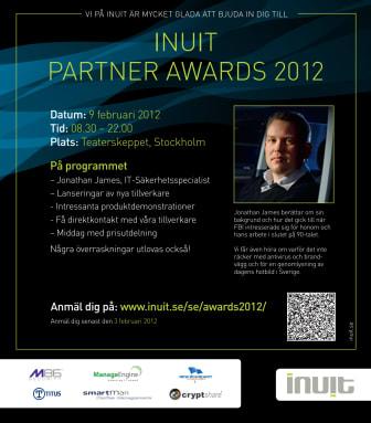 Inbjudan till Inuit Partner Awards 2012