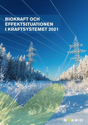 Biokraft och effektsituationen i kraftsystemet 2021