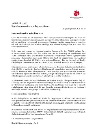 RE_Beslutsförslag Bilaga_Initiativärende RS 2020-09-10 - Laboratoriemedicin under hård press.docx.pdf